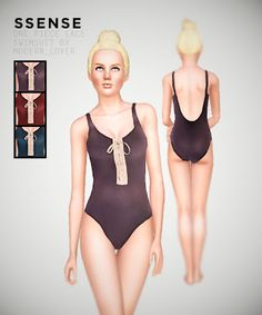 Modern_Lover's Blog || Custom content for The Sims 3: One piece lace swimsuit