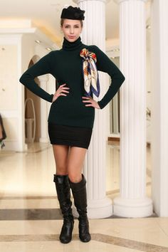 Knitwear sweater dress