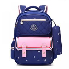 Orthopedics Fashion Children School Backpack School bags For Boys/girl Waterproof Backpack Kids School bag 2018 Fashion Trend Outfit Accessories From Touchy Style. Cute Backpacks, Girl Backpacks, School Backpacks, Cheap School Bags, School Bags For Boys, School Boy, Middle School, Backpack Bags, Fashion Backpack
