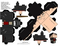 Fold your own geek character