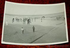 FOTOGRAFIA DE PLAYA CABO JUBY, SAHARA ESPAÑOL, AÑO 1932, MIDE 11 X 8 CMS. - Foto 1