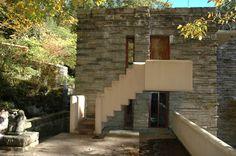 Fallingwater /Kaufman Residence. 1936-1939. Bear Run, Pennsylvania. Frank Lloyd Wright
