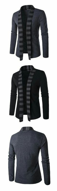Mens Fall Winter Fashion Knitted Cardigans Warm Turndown Collar Casual Outwear is cheap and designer, see other on NewChic. Dapper Gentleman, Gentleman Style, Weekender, Autumn Winter Fashion, Fall Winter, Winter Coat, Mens Fall, Knit Fashion, Men's Fashion