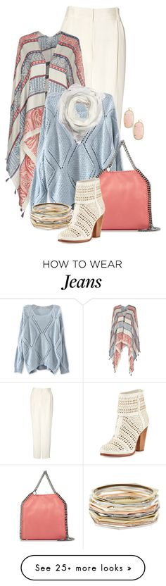 """Untitled #2543"" by anfernee-131 on Polyvore featuring 3.1 Phillip Lim, Pepe Jeans London, STELLA McCARTNEY, Kendra Scott, rag & bone and FABIANA FILIPPI"