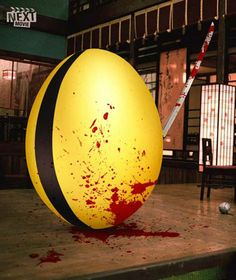 40 Fun and Creative Easter Advertisements | Kill Bill the Movie | Thank you to @adrianlinks for sharing this.