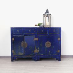 Shanxi Blue Buffet Sideboard (L125)