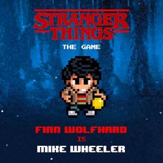 Stranger Things: The Game. Now available on the App Store and Google Play