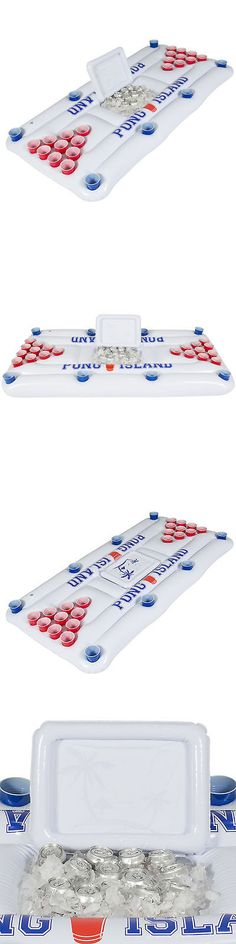 Floats and Rafts 181055: Bcp Inflatable Beer Pong W Cooler Floating Island Lounge Pool Party Swimming -> BUY IT NOW ONLY: $39.95 on eBay!