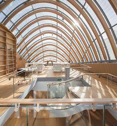 Pathé Foundation Headquaters   Paris, France   Renzo Piano   photo by Michel Denancé