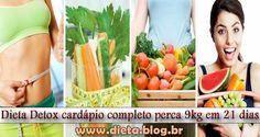 VIVER BEM COM ENERGIA - FITNESS : Dieta Detox Cardápio Completo Perca 9kg em 21 Dias...