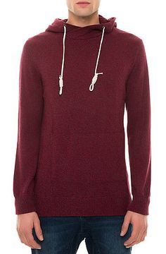 Jordan Craig The Crossover Pullover Hoodie in Burgundy