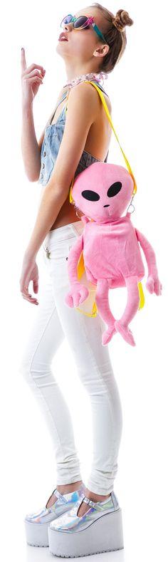 Dolls Kill Lost E.T. #Alien #Backpack