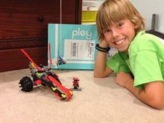 Rent different Lego sets each month with Pley