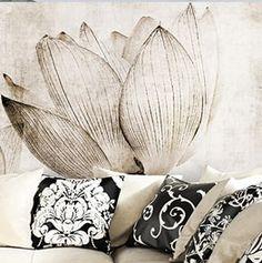 canvas / lotus
