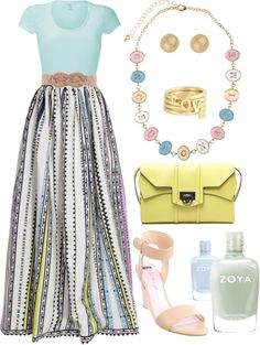 """FF: Pastel"" by rachel-felson on Polyvore"