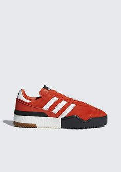 8443d53cb9095 Adidas Originals By Alexander Wang Adidas By Alexander Wang Basketball  Soccer Sneakers In Red In Borang