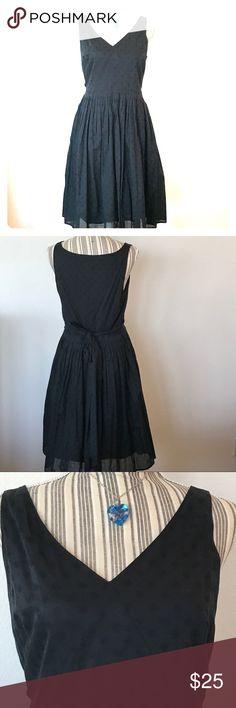 """J Crew Dress Nice black summer dress, fully lined, zips on side, sleeveless.  Length ~ 37"""" J. Crew Dresses"""