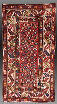 Vintage Antique Gendje Region Carpet the by tcEclecticImages