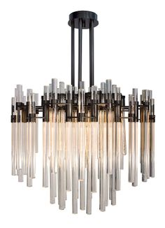 Verga chandelier by Wired Custom Lighting