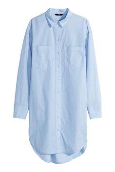 Bawełniana koszula oversize | H&M