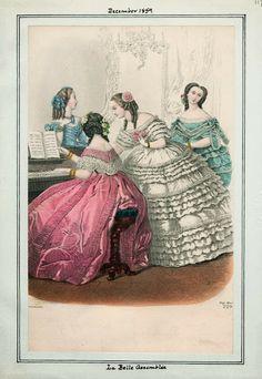 In the Swan's Shadow: La Belle Assemblee, December 1859.
