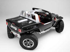 Jeep Hurricane, 4 wheel steering for zero turning radius