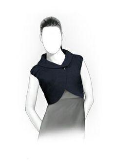 5877 Personalisierte Jacke Pattern - Schnittmuster PDF, Women Clothing