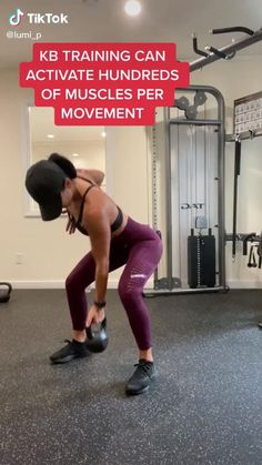 Fitness Workouts, Fitness Motivation, Gym Workout Videos, Fitness Workout For Women, Sport Fitness, Butt Workout, At Home Workouts, Kettlebell Ab Workout, Kettlebell Exercises For Arms