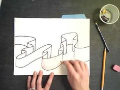 drawing tips Ribbon Drawing - Doodle Sketch, Doodle Art, Zentangle Patterns, Peyote Patterns, Zentangles, Heart Doodle, Mandala Doodle, Bullet Journal Banner, Value In Art