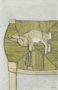 Кролик на стуле