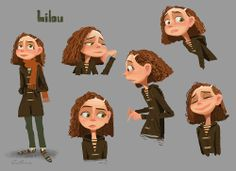 [Lilou_sketches.jpg] ★ || CHARACTER DESIGN REFERENCES™ (https://www.facebook.com/CharacterDesignReferences & https://www.pinterest.com/characterdesigh) • Love Character Design? Join the #CDChallenge (link→ https://www.facebook.com/groups/CharacterDesignChallenge) Share your unique vision of a theme, promote your art in a community of over 50.000 artists! || ★