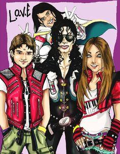 MJ-UPBEAT - Редкие фотографии Майкла Джексона (Страница 6)