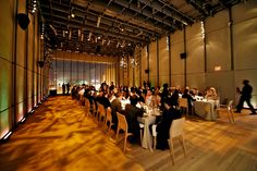 The formal opening of the relocated museum is still weeks away, but the Renzo Piano-designed building has already become a hot party space.