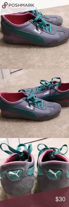 Puma Wedge Sneakers Puma Wedge Sneakers size 8 1/2 Puma Shoes Sneakers