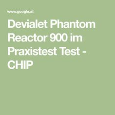 Devialet Phantom Reactor 900 im Praxistest Test - CHIP Chips, Potato Chip, Potato Chips