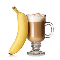 SNACK ~~   1 large banana 12 oz nonfat vanilla latte sprinkled with 1/2 tsp cinnamon    CAFFEINE IS A DOUBLE THREAT for flab: It increases fat burn and revs your metabolism so you torch more calories.    Total: 274 calories