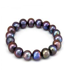 Pulsera de perlas negras cultivadas. En subasta online. - Subastas Regent's | Joyas y Antigüedades
