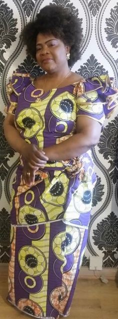 FROM DRC Ankara Dress Styles, African Lace Dresses, African Fashion Dresses, Culture Clothing, Ghanaian Fashion, African Culture, Africa Fashion, African Design, African Attire