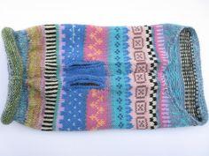 Suéter de colores perro XS