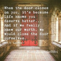 Wish we had closed a lot of doors sooner but we live and we learn. Are there any doors you should close before the year ends? #foodforthought #reflections #selflove #selfworth #live #learn #life #positive #positivethinking #positivity #lawofattraction #abundance #wisdom #strength #wellbeing #inspiration #motivation #soulfood #dailyhappinessproject #quote #qotd #quotes #instagood #instaquote #Bphilosophy