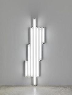 source:Dan Flavin. #Art #Light #Installation. flurotubes.gradlightingpaulina