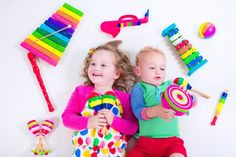 Child with music instruments. Musical education for kids. Colorful wooden art toys for kids. Little girl and boy play music. Kid with xylophone, guitar, flute. Baby Musical Toys, Computational Thinking, Early Music, Music And Movement, Music Activities, Math Concepts, Boys Playing, Music For Kids, Baby Store