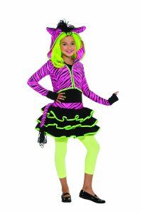 special offers available click image above neon pink zebra hoodie girls costume girls costumes - Girls Halloween Costumes For Kids