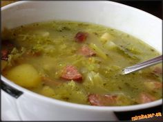 Soup Recipes, Chicken Recipes, Cooking Recipes, Eastern European Recipes, Modern Food, Czech Recipes, Tasty, Yummy Food, Hungarian Recipes