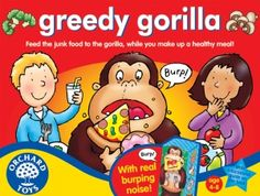 Greedy Gorilla from Orchard Toys - read the review