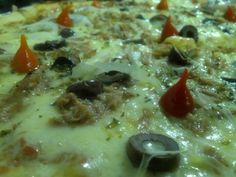 Brazilian Tuna Pizza