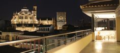 Terraza #FontecruzGranada con vistas a la Catedral