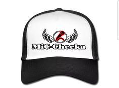 €17,99 order NOW!Mic Checka White/Black Trucker Cap. Match it with a Mic Checka hoody or T-shirt.
