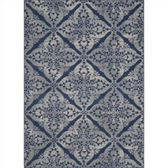 Andover Mills Anzell Blue/Grey Area Rug Rug Size: Rectangle x Tiny House, Up House, Farm House, Navy Blue Area Rug, Blue Area Rugs, Blue Rugs, Yellow Rugs, Navy Rug, Home Fashion