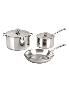 Le Creuset Stainless Cookware Set (5 PC)
